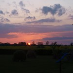 Sunset at Windmill Lodges