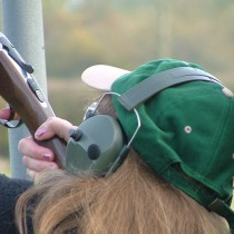 Clay pigeon shooting at Coopers Country