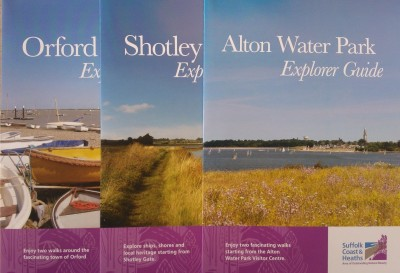 Leaflets of walks across Suffolk